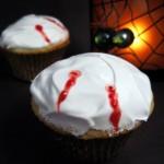 Baking Bites' Vampire Cupcakes