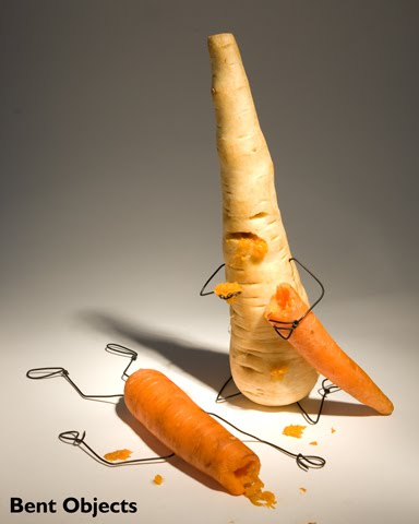 Carrot Zombie from Bent Objects